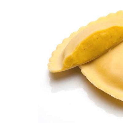 στρογγυλό ravioli