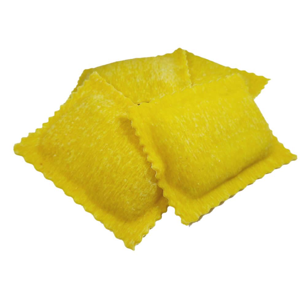 ravioli με τρούφα και μους ανθότυρου, φρέσκα ζυμαρικά