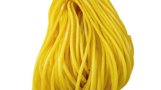 spaghetti, φρέσκα ζυμαρικά